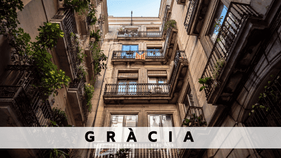 Rent an apartment in  Gracia