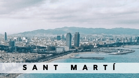 Rent an apartment in  Sant Marti