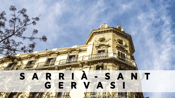 Rent an apartment in  Sarria Sant Gervasi