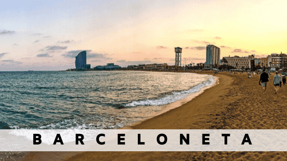 Rent an apartment in  Barceloneta