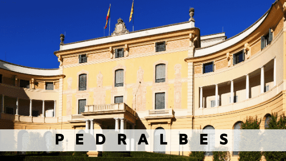 Rent an apartment in  Pedralbes