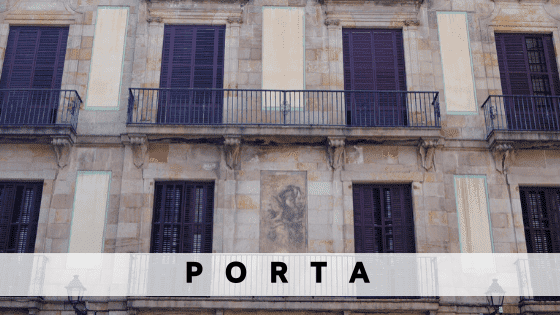 Rent an apartment in  Porta
