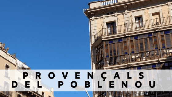 Rent an apartment in  Provencal Poblenou