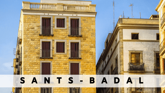 Rent an apartment in  Sants Badal