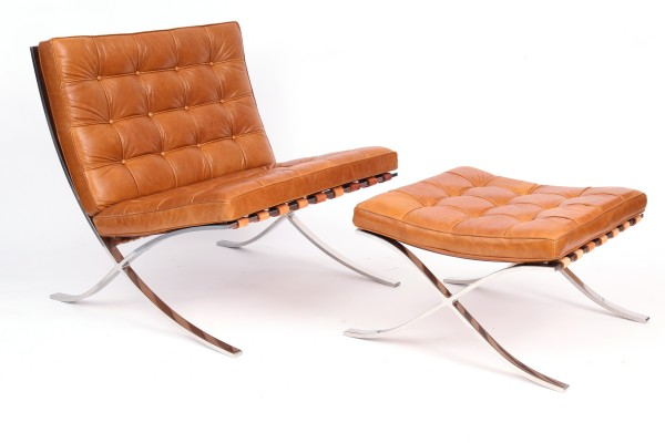Barcelona Ottoman: The Barcelona Chair  ShBarcelona