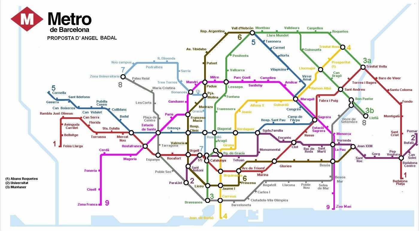 boston subway map with streets with Barcelona Seeing The Most on Soporte mondrian m also File Map of Boston and Cambridge in addition Mapas Detallados besides Montreal Metro Map 4 additionally Philadelphia Metro Map 2.