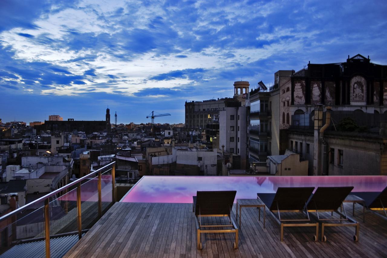 Best roof top terraces in barcelona shbarcelona for Terrazas de hoteles en barcelona