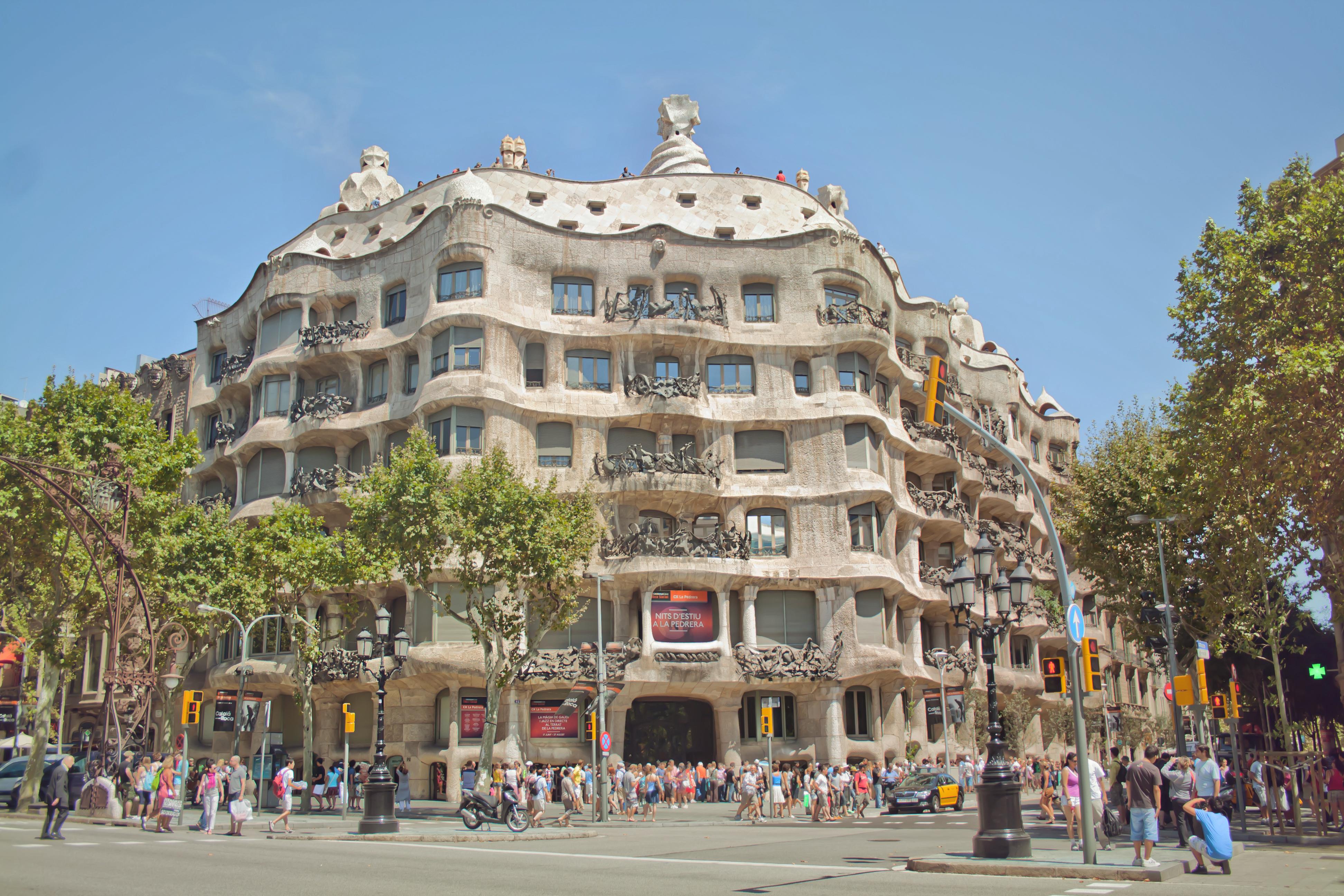 Museum restaurants in barcelona shbarcelona - Casa mila la pedrera ...
